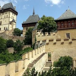 Пазл онлайн: Замок Карлштейн. Чехия