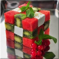 Пазл онлайн: Кубик-рубик