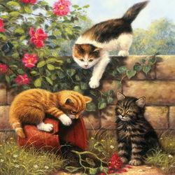Пазл онлайн: Маленькие проказники