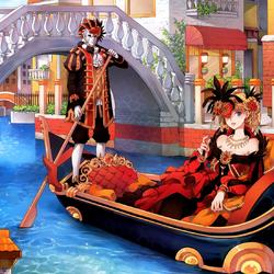 Пазл онлайн: Прогулка в Венеции