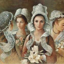 Пазл онлайн: Мода прошлых веков
