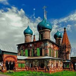 Пазл онлайн: Церковь Иоанна Златоуста