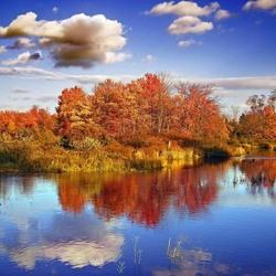 Пазл онлайн: Осений пейзаж