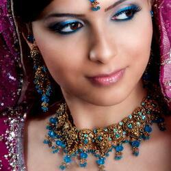 Пазл онлайн: Индийские девушки