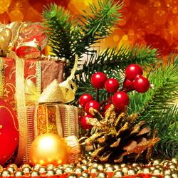 Пазл онлайн: Подарки на Новый год