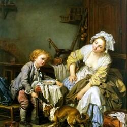 Пазл онлайн: Балованное дитя