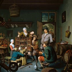 Пазл онлайн: Кукольный мастер пришел
