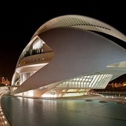 Пазл онлайн: Оперный театр в Валенсии. Испания