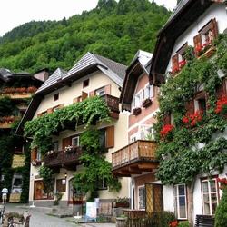 Пазл онлайн: Улицы Халльштадта. Австрия