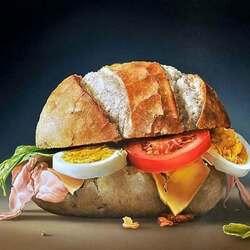Пазл онлайн: Сэндвич