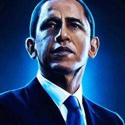 Пазл онлайн: Барак Обама