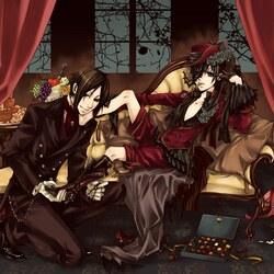Пазл онлайн: Темный дворецкий