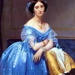 Пазл онлайн: Принцесса де Брогли