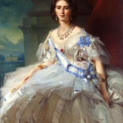 Пазл онлайн: Портрет княгини Татьяны Александровны Юсуповой,  урожденной Рибопьер
