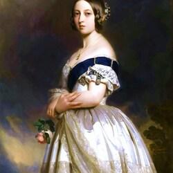 Пазл онлайн: Королева Великобритании Виктория I