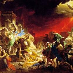 Пазл онлайн: Последний день Помпеи