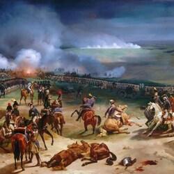 Пазл онлайн: Битва в Вальми в 1792 году