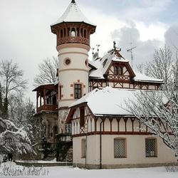 Пазл онлайн: Снежный замок