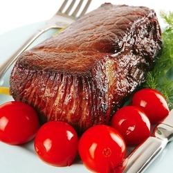 Пазл онлайн: Запеченное мясо
