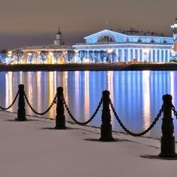 Пазл онлайн: Зимний Санкт-Петербург
