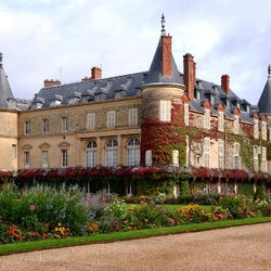 Пазл онлайн: Шато де Рамбуйе. Франция