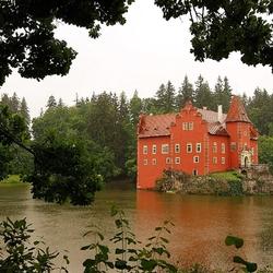 Пазл онлайн: Замок Червена Лгота. Чехия