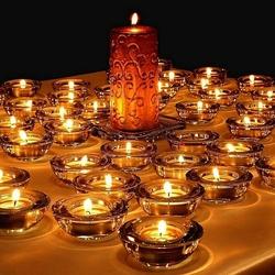Пазл онлайн: Свечи