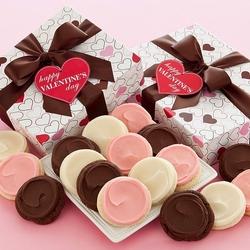 Пазл онлайн: Печенье в Валентинов день