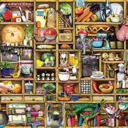Пазл онлайн: Кухонный шкаф