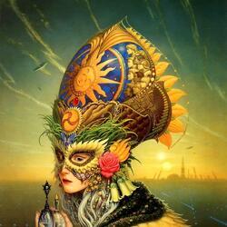 Пазл онлайн: Summer Queen / Королева Лето