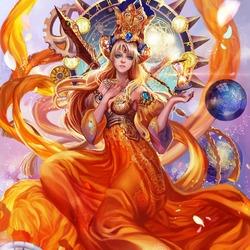 Пазл онлайн: Богиня времени