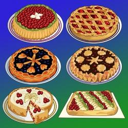 Пазл онлайн: Пироги с начинкой