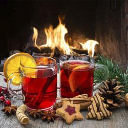 Пазл онлайн: Праздничный напиток