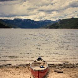 Пазл онлайн: Одинокий берег