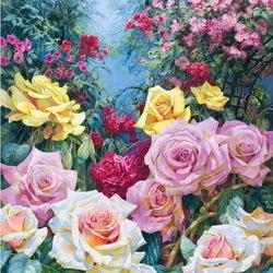 Пазл онлайн: Аромат розы