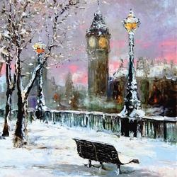 Пазл онлайн: Зимний Лондон