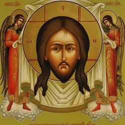 Пазл онлайн: Нерукотворный образ Господень