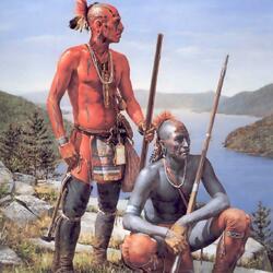 Пазл онлайн: Индейцы, восточная граница