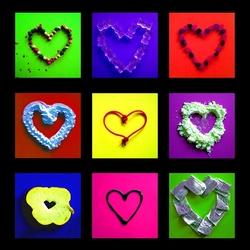 Пазл онлайн: Съедобные сердца