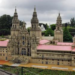Пазл онлайн: Макет королевского дворца Эскориал (Испания)