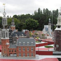 Пазл онлайн: Макет Алкмара (Голландия)