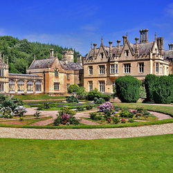 Пазл онлайн: Замок в Англии