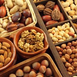 Пазл онлайн: Вкусные орешки