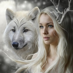 Пазл онлайн: Духи зимы