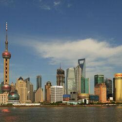 Пазл онлайн: Шанхай