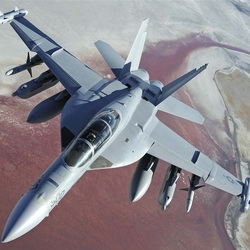 Jigsaw puzzle: Boeing EA-18G