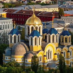 Пазл онлайн: Владимирский собор в Киеве
