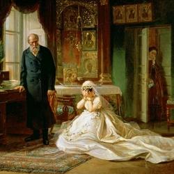 Пазл онлайн: Перед венцом