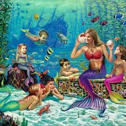 Пазл онлайн: Подводный рассказ