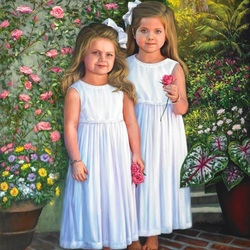 Пазл онлайн: Сёстры